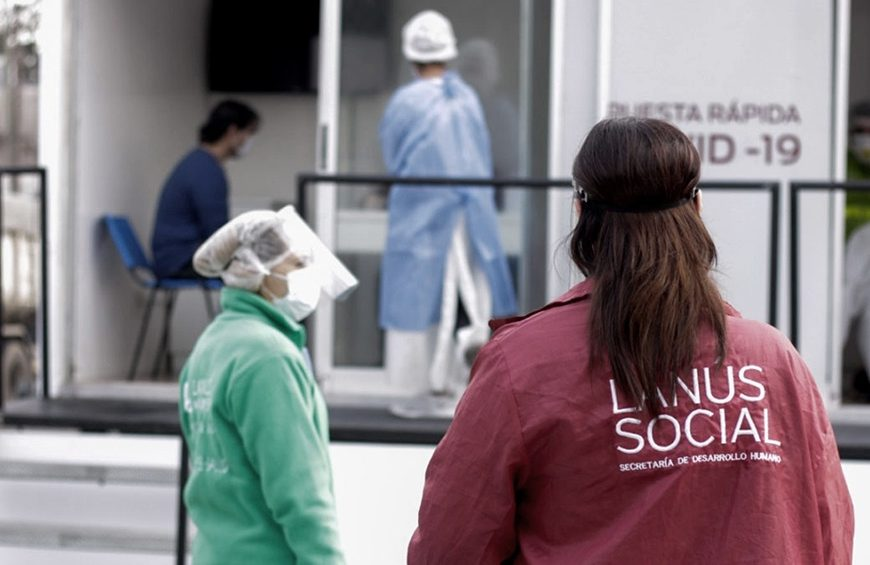 Provincia de Buenos Aires llegó a  594.248  contagios