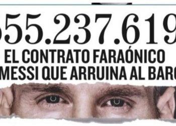 Messi: fuerte publicación en Barcelona sobre su contrato