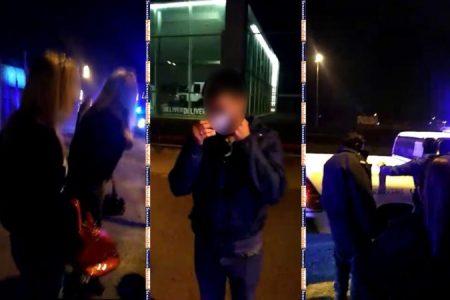 Atraparon a un policía acusado de robarles a clientes de las travestis en  la Autopista